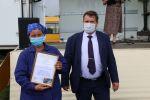 Конкурс на лучшего оператора машинного доения прошел в Алферово