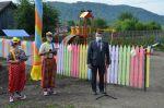 Новую детскую площадку открыли в Паспауле